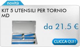 IN PROMOZIONE: Kit 5 utensili per tornio MD
