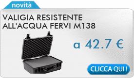 IN PROMOZIONE: Valigia resistente all\'acqua FERVI M138