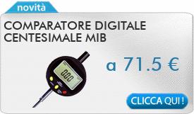 IN PROMOZIONE: Comparatore digitale centesimale MIB