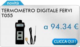 IN PROMOZIONE: Termometro digitale FERVI T055