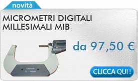 IN PROMOZIONE: Micrometri digitali millesimali MIB