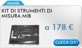 IN PROMOZIONE: Kit di strumenti di misura MIB