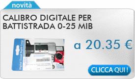 IN PROMOZIONE: Calibro digitale per battistrada 0-25 MIB