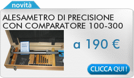 IN PROMOZIONE: Alesametro di precisione con comparatore 100-300 MIB