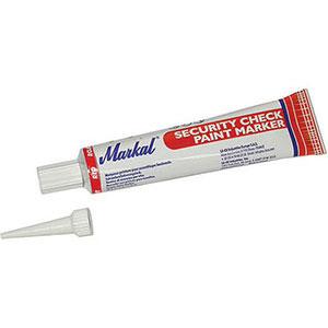 [ 3429 22 ] - Sicutool - Marcatore rosso per controllo di sicurezza a tubetto