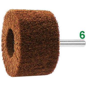 [ 7945T ] - Sicutool - Spazzola rotativa con gambo in non tessuto grana extrafine