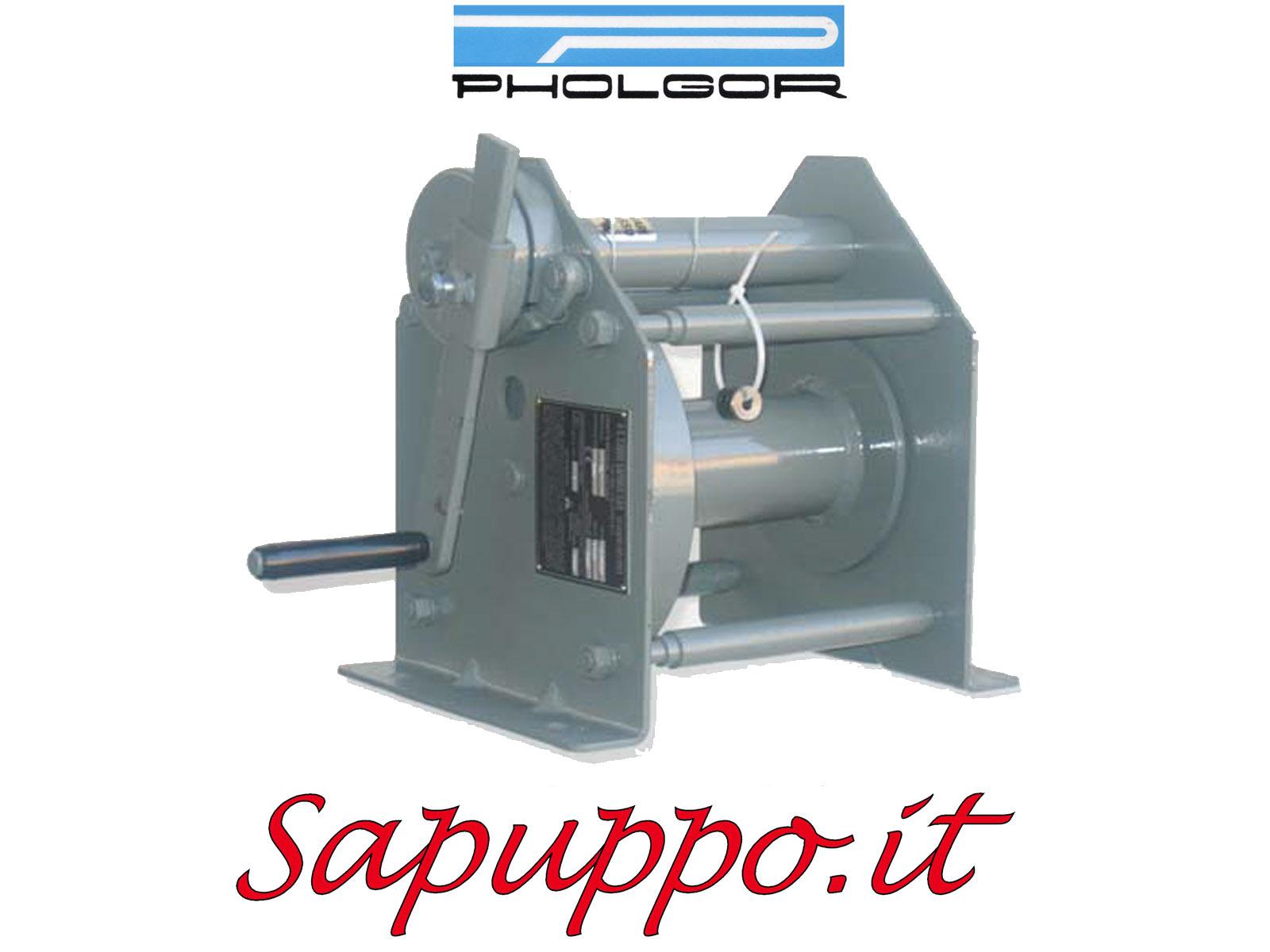 Argano a mano ad ingranaggi cilindrici tipo CLM - PHOLGOR