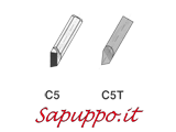Utensili per interno saldobrasati C5 - Vendita online su Sapuppo.it