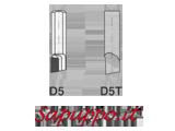 Utensili per interno saldobrasati D5