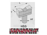 Utensili per stozzatrice in HSS - Vendita online su Sapuppo.it
