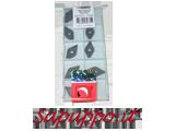 Inserto DNMG150608E qualità T9325 DORMERPRAMET-IMPERO