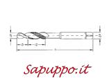 Punte foramaschia metriche HSS MASTER art. 175 - Vendita online su Sapuppo.it