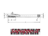 Maschi a macchina metrici elica 15� MASTER art. M322B