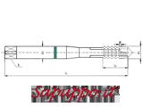 Maschi a macchina metrici per alluminio MASTER art. M421NA