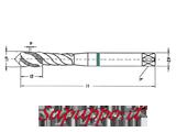 Maschi a macchina metrici per alluminio elica 35� MASTER M422DI