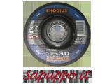 Disco da taglio 115 x 3.0 RHODIUS FTK33