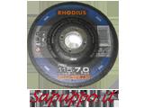 Disco per smerigliatura 115 x 7.0 RHODIUS RS2