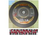 Disco da taglio extra sottile per inox 230 x 1.9 RHODIUS XT38