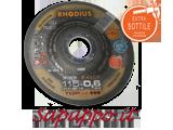 Disco da taglio super ipersottile 115 x 0.6 RHODIUS XTK6