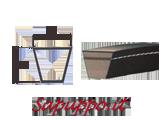 Cinghie trapezoidali sezione SPC