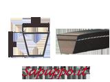 Cinghie trapezoidali sezione SPZ