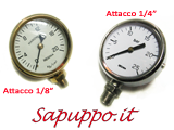 Manometri per gas diametro 60