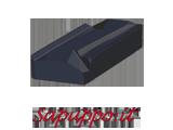 Placchette sinistre KNUX 160405-L01 AB425 per inox - Vendita online su Sapuppo.it