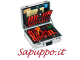 Valigia professionale alluminio 0680 - Vendita online su Sapuppo.it