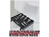 Set di 8 frese a tazza con inserti in metallo duro FERVI - Vendita online su Sapuppo.it