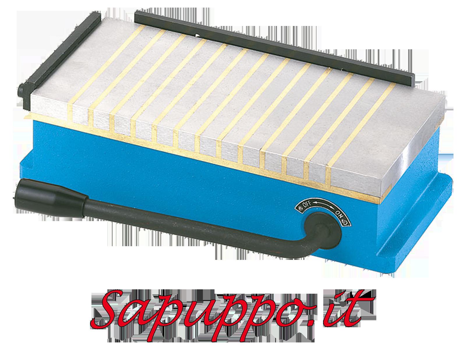 Piano magnetico permanente per fresatrice 300x150x75 FERVI P071