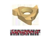 Placchette 16IR per filettatura interna metrica universali - Vendita online su Sapuppo.it
