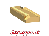 Placchette KNUX 160405 R N conf. 10 inserti
