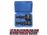 Set di 6 aumentatori / riduttori per chiavi a bussola FERVI