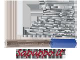 Serie 12 alesatori per spruzzi - Vendita online su Sapuppo.it