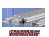 Barre in acciaio inossidabile AISI 304 sezione rettangolare
