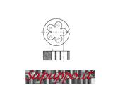 Filiera al cromo filettatura GAS (BSP)
