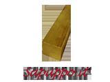 Barre di ottone sezione quadra