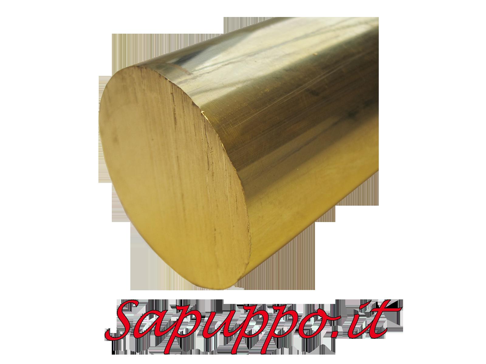 Barre di ottone sezione tonda piene for Quotazione barra ottone