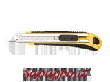 Cutter automatico con guidalama in acciaio + 8 lame