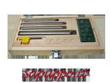 Kit 4 utensili per interni SCLCR per placchette CCMT06 - Vendita online su Sapuppo.it