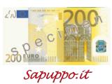 Cod.200 - Buoni regalo da 200 euro