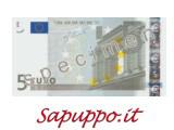 Cod.005 - Buoni regalo da 5 euro
