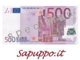Cod.500 - Buoni regalo da 500 euro
